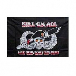 Флаг Kill'em All  3x5 Rothco